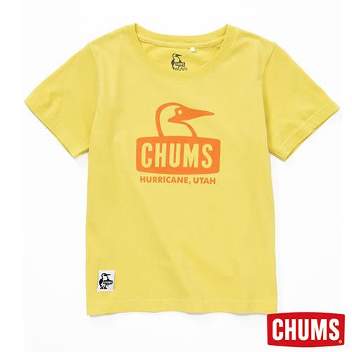 CHUMS 日本 童 Booby Face圓領短袖T恤 鮮果綠 CH211033Y038