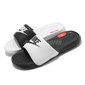 Nike 拖鞋 Wmns Victori One Slide Mix 黑 白 黑白 鴛鴦配色 女鞋 涼拖鞋【ACS】 DD0228-100