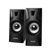 【超人百貨】KINYO USB 多媒體 音箱 US-230 P.M.P.O.600W 電腦 手機 平板 2.0聲道