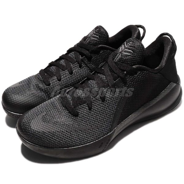 Nike 籃球鞋 Zoom Kobe Venomenon 6 EP 全黑 毒液 男鞋 低筒 【PUMP306】 897657-001