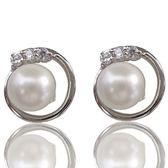 【小樂珠寶】造型大加分 3A南洋深海貝珍珠耳環