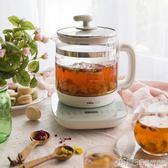 養生壺 養生壺1.5L升迷你小容量多功能玻璃煮花茶壺煮茶器電熱燒水壺 igo 玩趣3C