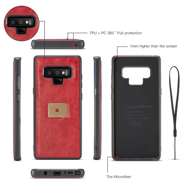 秦系錢包殼 三星 Note9 Note8 手機皮套 手機殼 插卡 皮套 掛繩 全包邊 保護殼
