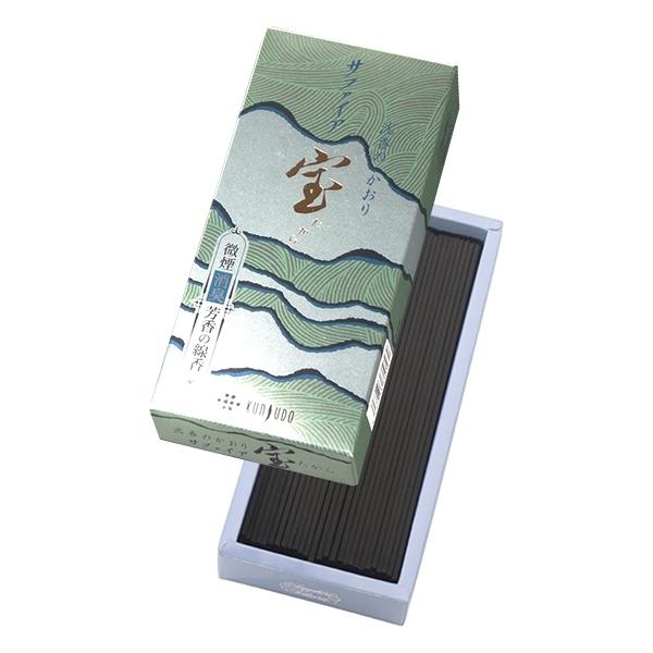 【日本神戶薰壽堂】寶線香(SAPPHIRE)沉香 微煙線香(小盒裝)