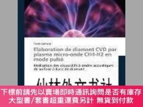 二手書博民逛書店【罕見】Elaboration de Diamant CVD Par Plasma Micro-Onde Ch4-
