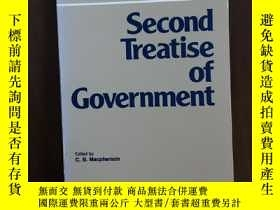 二手書博民逛書店Second罕見Treatise of Government (