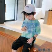 男童短袖T恤兒童半袖體恤純棉夏季打底衫薄款【淘夢屋】
