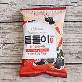 韓國零食韓國Doldori海苔酥(香辣口味)30g*24包/箱【0216零食團購】8809178819740-B