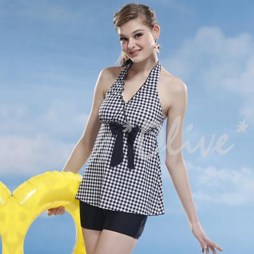 ☆小薇的店☆泳之美品牌【亮眼方格配色】時尚二件式泳裝特價1090元 NO.8838(M-XL)