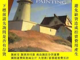 二手書博民逛書店2手英文罕見American Painting 美國繪畫 xhb