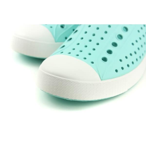 native JEFFERSON 休閒鞋 洞洞鞋 淺綠色 男女鞋 11100100-4952 no794