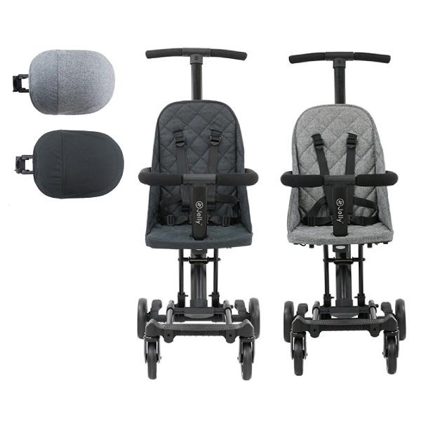 英國 JOLLY 輕便摺疊手推車-豪華款+遮陽棚(2色可選)