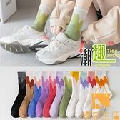 【5雙裝】襪子女士長襪薄款運動日系長筒純棉夏季可愛中筒襪【慢客生活】