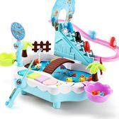 小孩釣魚玩具小魚磁益智親子一兩三周12-34歲半寶寶女孩兒童玩具