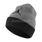 Nike 帽子 Jordan Beanie Graphic Knit Hat 灰 黑 男女款 毛帽 【ACS】 AA1302-091
