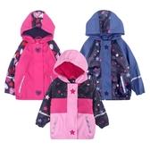 兒童中小童男童女童防水防風防寒雨衣戶外滑雪加絨沖鋒衣外套   蘑菇街小屋