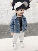 兒童外套 童裝男童寶寶軟牛仔外套兒童春秋裝新品韓版洋氣夾克嬰幼小童 快速出貨