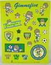 【震撼精品百貨】GIMMEFIVE Sanrio 足球/棒球小子~貼紙『淺綠』