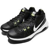 Nike 籃球鞋 Air Versitile 黑 白 氣墊 高筒 男鞋 黑白 基本款 運動鞋【PUMP306】 852431-009