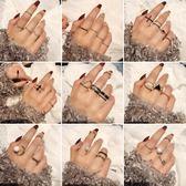 戒指—日韓網紅戒指女潮人冷淡風開口關節指環個性學生食指大氣小指尾戒 依夏嚴選