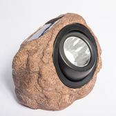 太陽能花園擺件射燈仿真石頭雕塑投射燈防水LED景觀庭院燈    SQ12028『寶貝兒童裝』TW