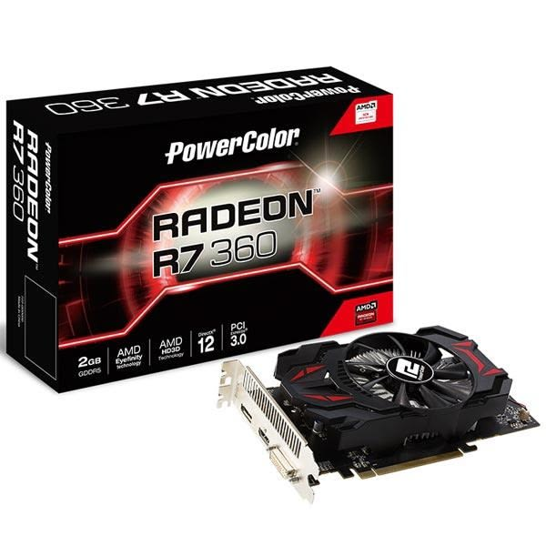 撼訊 R7 360 2GBD5 128bit PCI-E 3D圖形加速卡