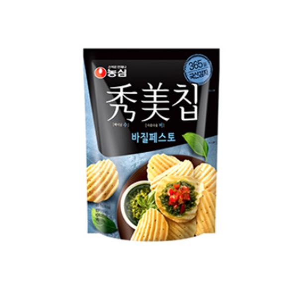 韓國農心秀美洋芋片 85g 蜂蜜芥末 羅勒青醬 【庫奇小舖】