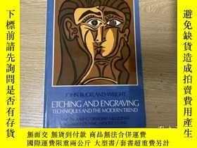 二手書博民逛書店Etching罕見and Engraving:Technique