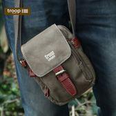 【TROOP】經典品格CLASSIC單肩包/TRP0213BN(棕色)