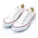 Converse ALL STAR 低筒 基本款 帆布休閒鞋 白X紅邊 M7652C 全尺碼【iSport愛運動】