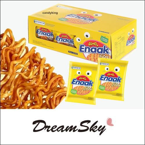 【即期品】韓國 Enaak 重量包 大雞麵 香脆 點心麵 (24包入盒裝) 720g 脆麵 隨手包 零食 團購 Dreamsky