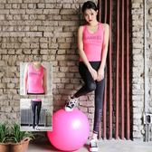 瑜珈服運動套裝(兩件套)-顯瘦速乾高彈背心女健身衣3色73mt11[時尚巴黎]