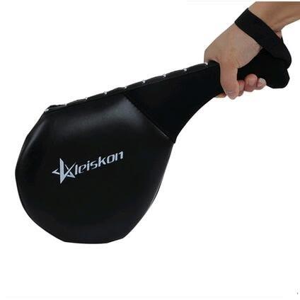 食尚玩家 leiskon跆拳道腳靶兒童跆拳道腳靶道靶成人兒童腳靶內置鋼板