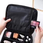 大容量化妝品收納包手提多層化妝包便攜防水多格【雲木雜貨】
