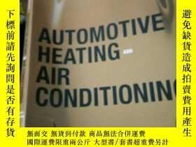 二手書博民逛書店Automotive罕見Heating and Air Cond