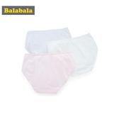 巴拉巴拉兒童內褲女三角棉質女童短褲頭中大童女孩學生清新三條裝