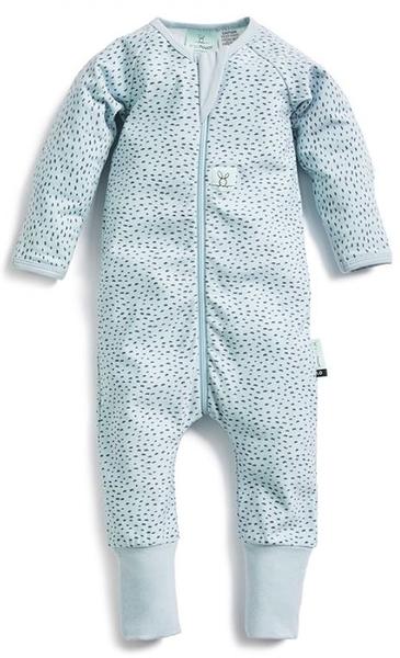 澳洲 ergoPouch 有機棉 長袖連身衣 - 沖繩藍 0.2tog