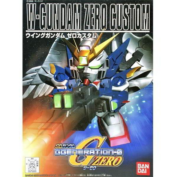 BB戰士 SD鋼彈G世代ZERO BANDAI 組裝模型 XXXG-00W0 飛翼零式 天使鋼彈 203