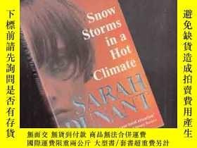 二手書博民逛書店SNOW罕見STORMS IN A HOT CLIMATE【43