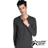 PolarStar 中性圓領排汗保暖衣『灰』P14215 機能衣│保暖衣│排汗│POLARTEC