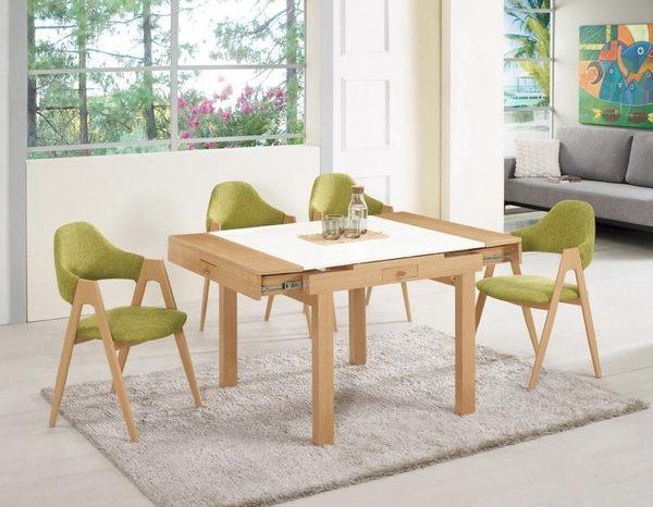 8號店鋪 森寶藝品傢俱 品味生活 c-01   餐廳系列 960-1碧琳達原石三用桌椅組(一桌四椅)(可拆賣)