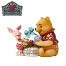 【正版授權】Enesco 維尼與小豬復活節 塑像 公仔 精品雕塑 小熊維尼 Winnie 迪士尼 Disney - 973472