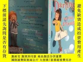 二手書博民逛書店delilah罕見darling is on the stage 黛利拉·達林在臺上Y200392