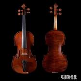 啞光考級小提琴 實木制作初學者手工兒童演奏成人樂器  zh3418【宅男時代城】