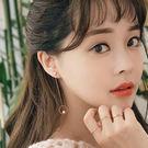 【NiNi Me】夾式耳環 氣質甜美珍珠...