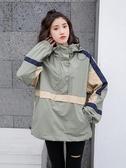 工裝外套女新款寬鬆韓版學生小眾設計情侶裝春季原宿風休閒潮