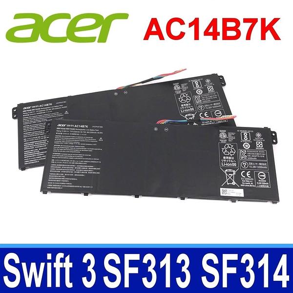 ACER AC14B7K . 電池 Spin 5 SP515 51 51N 51GN Swift 3 SF313 51 Swift 3 SF314 52 54 54G 55 55G 56 56G S4