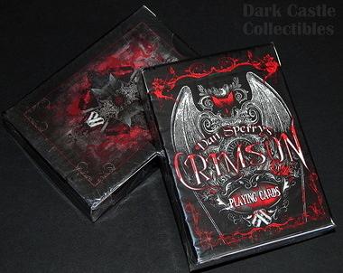【USPCC 撲克】Crimson resurrection 復活魔鬼撲克牌