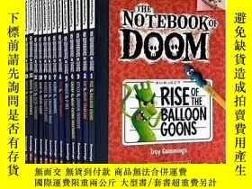 二手書博民逛書店大樹系列the罕見Notebook of DOOM毀滅日記Y34