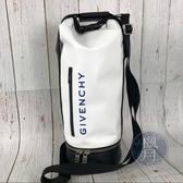 BRAND楓月 GIVENCHY 紀梵希 JAW MD HYBRID 系列 白色 拳擊包 旅行袋 旅行包